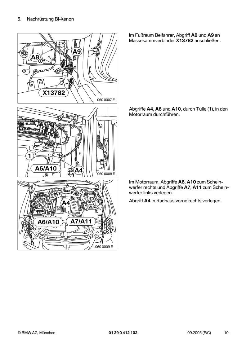 Bmw Eba E60 Nachr 252 Stung Bi Xenon