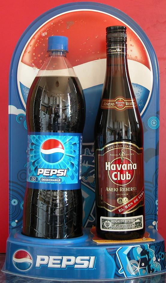 pepsi in cuba Pepsi 38m likes welcome to pepsi global love it live it painting the world blue with messi, marcelo, kroos, lloyd & dele # loveitliveit.