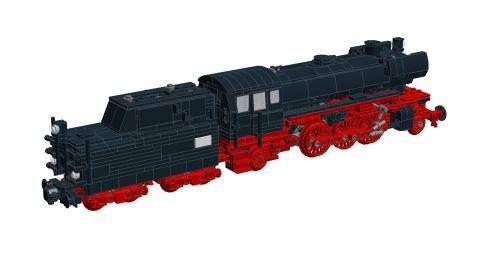 Bricks on Rails / DB BR 23