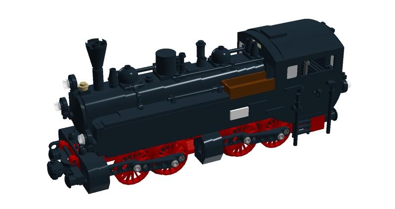 Bricks on Rails / DR BR 99 DDR