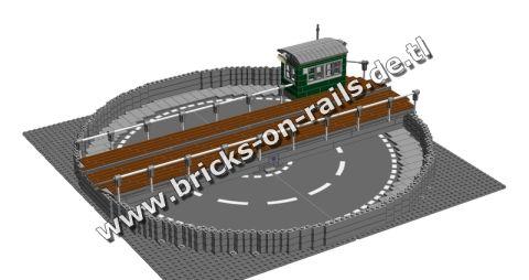 Bricks on Rails / Drehscheibe