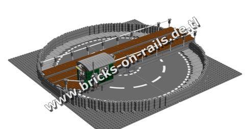 Bricks on Rails / Drehschibe