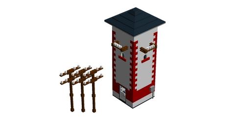 Bricks on Rails / Trafohaus
