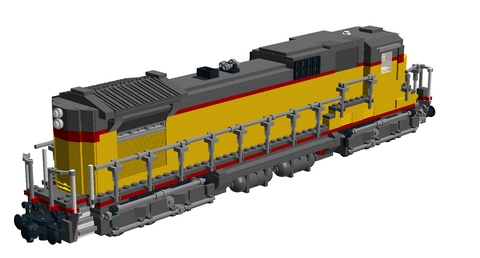 Bricks on Rails / GE Dash 8-40C