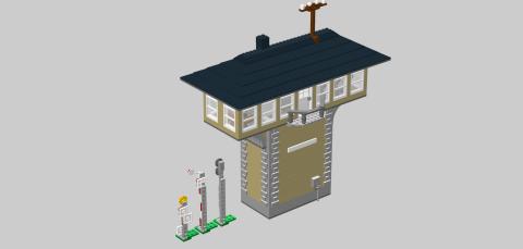 Bricks on Rails / Pilzstellwerk
