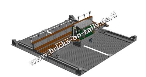 Bricks on Rails / Schiebebühne