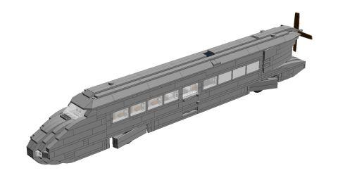 Bricks on Rails / Schienenzeppelin