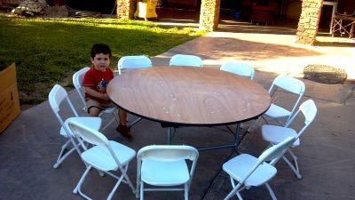 Brincolinas mi alegria mesas y sillas for Medidas sillas ninos