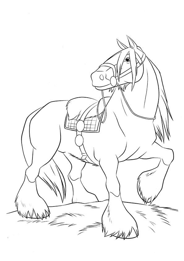 Schleich Kleurplaat Dreamland Pferde - kleurplatenl.com