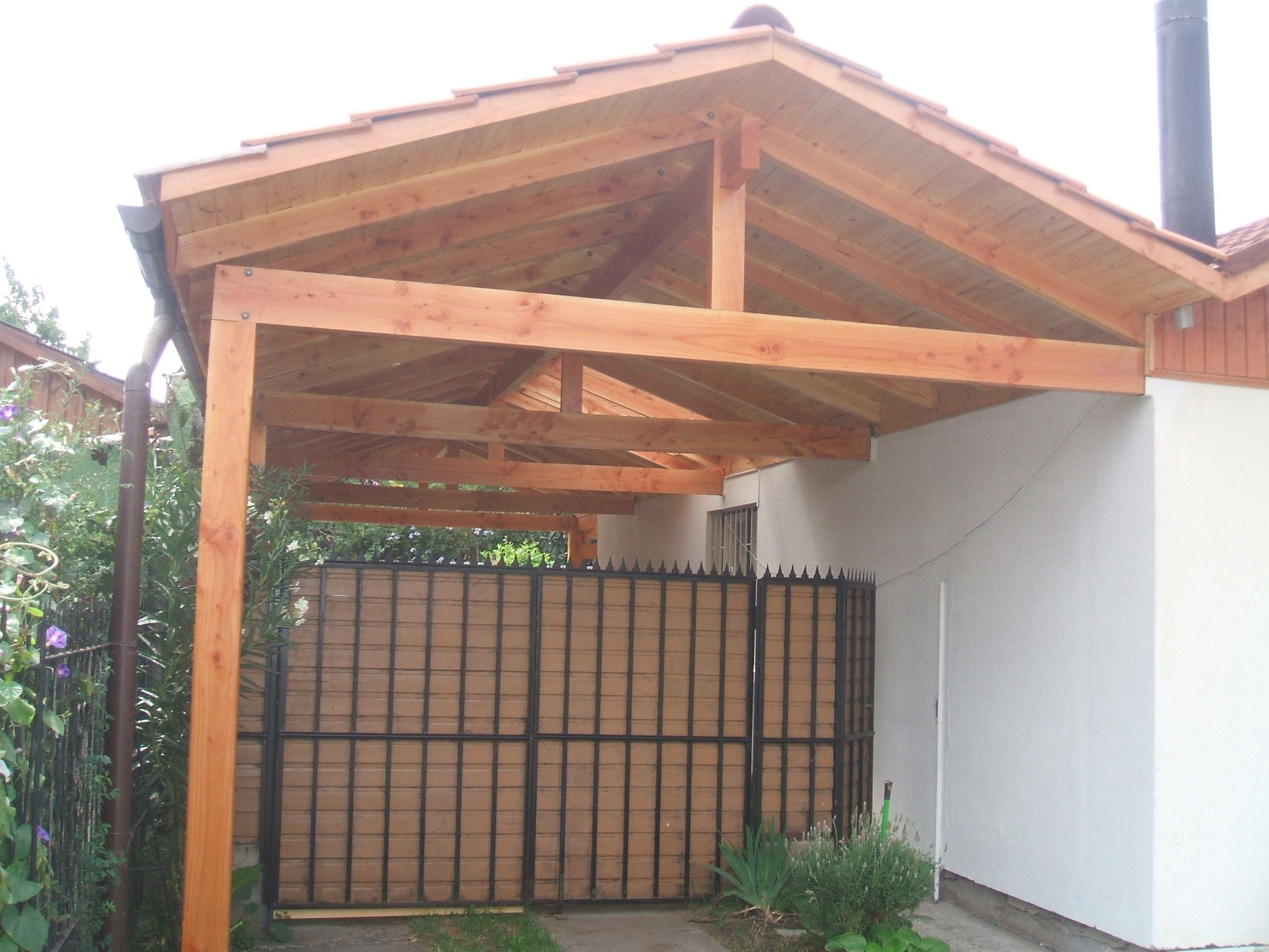Creacion construcciones pergolas y dise os for Casas con cobertizos