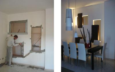 Non costruisco illusioni ma cerco solo di architettare i for Ingresso soggiorno arredare