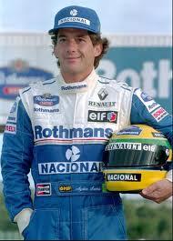 In remembrance Ayrton Senna.