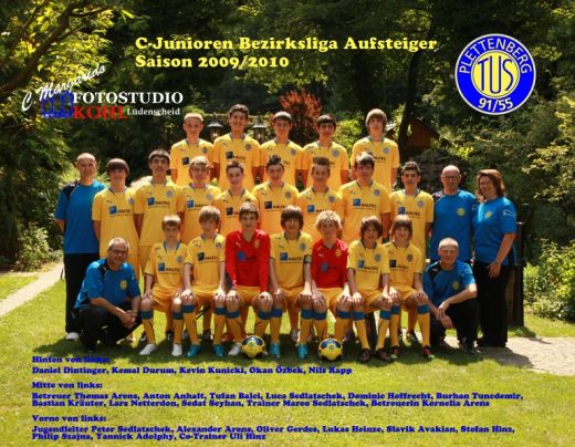 C1 TuS Plettenberg Saison 2009 2010 Fotos