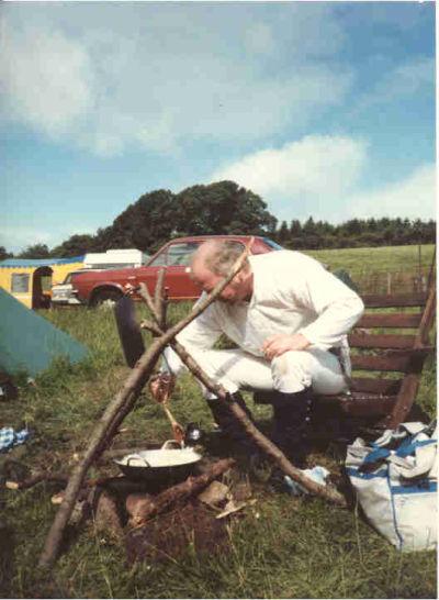 John Szestowicki Muncaster Castle 1985.