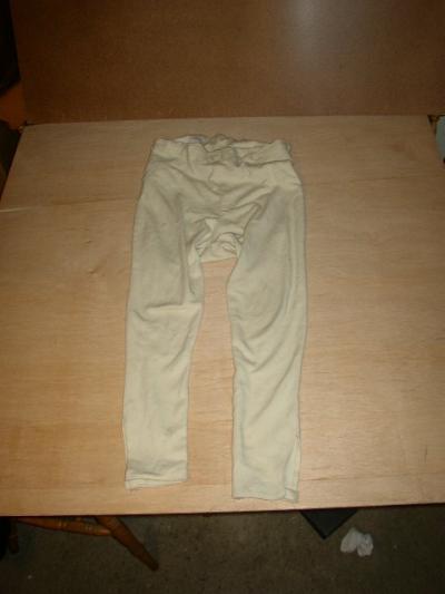 Pantalon d'etoffe