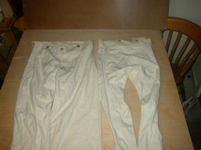 Pantalon de toile