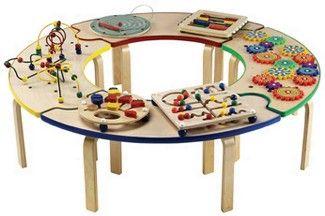 Carpifa juguetes did cticos en madera circuitos planos for Mesa didactica chicco