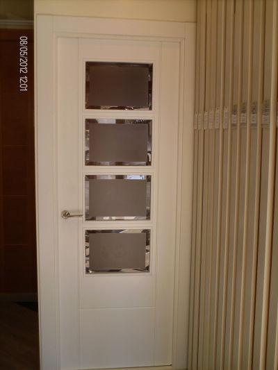 Puertas de paso for Cristales para puertas de paso