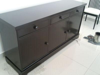Carpinteriaarizmendi muebles color chocolate for Reparacion de muebles antiguos