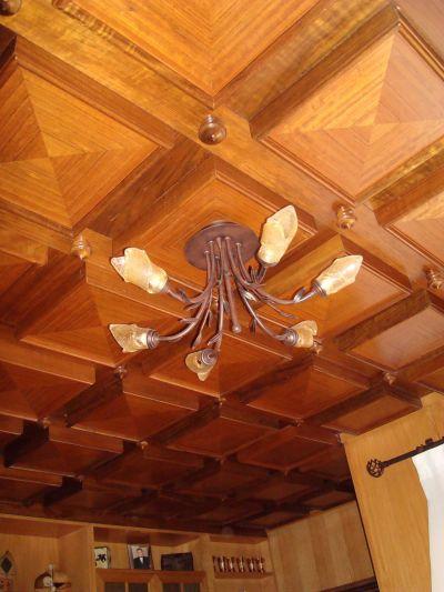 Carpinteria de madera techos y artesonados - Empanelados de madera ...