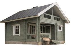 Casas de madera casas de madera nordicas - Casas de madera nordicas ...
