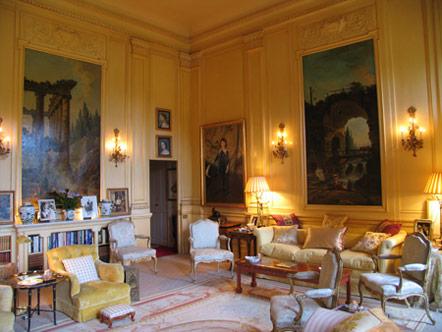 Castillos y palacios palacio de blenheim for Sala de estar palacio