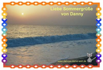 Sommergruß von Danny