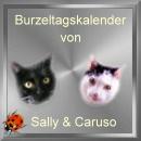 Burzeltagskalender von Sally und Caruso