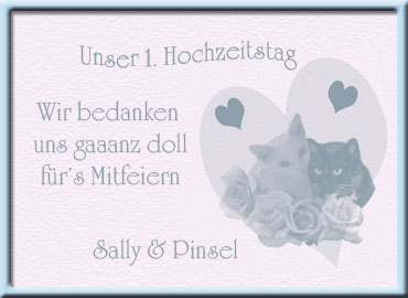 Sally und Pinsel