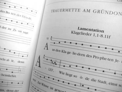Choralbuch Trauermette