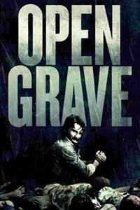 Open grave