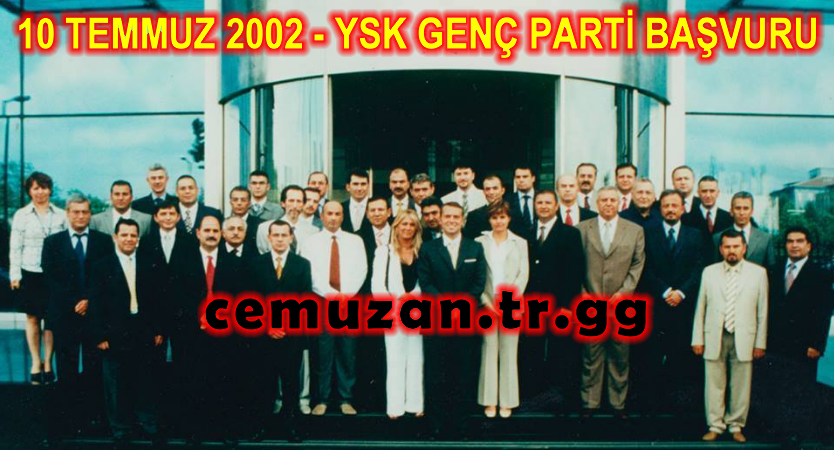 Genç Parti 10 Temmuz 2002