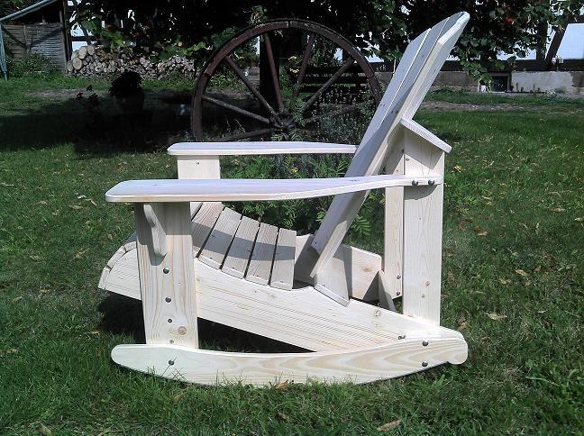 chair-und-mehr - Adirondack Chair Holz Gartenstuhl ...