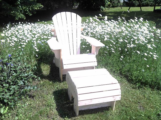 adirondack chair bausatz. Black Bedroom Furniture Sets. Home Design Ideas