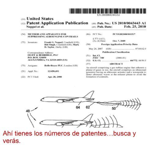 Resultado de imagen de patentes de geoingeniería
