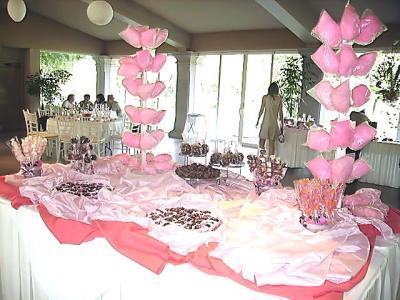 L dessert mesas de postres for Como decorar mesa de postres para baby shower