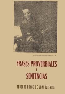 Frases Proverbiales & Sentencias