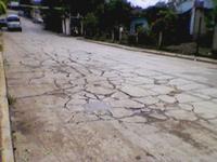 Foto de la Calle Patria - Salida hacia el municipio de Chontla - Actualmente paradero de Autobuses Serranos de Otontepec.