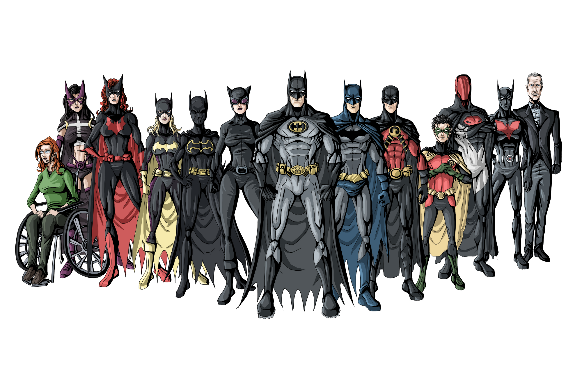 Batman Ailesi: Robinler Liste