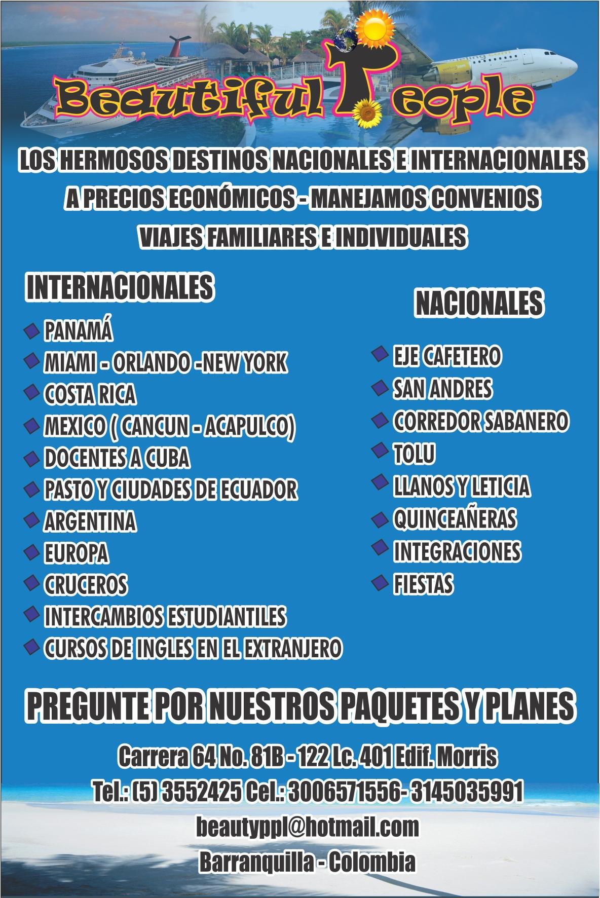 Publicidad Puerta De Oro Agencia De Viajes