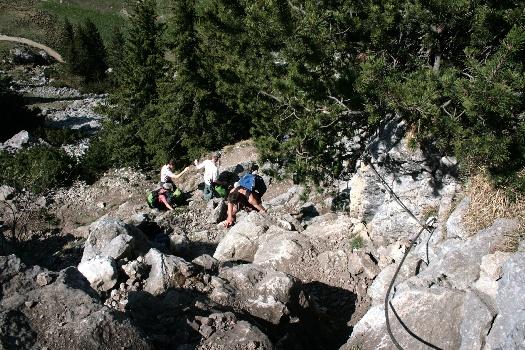 Klettersteig Buchstein : Clausis hompage roß und buchstein