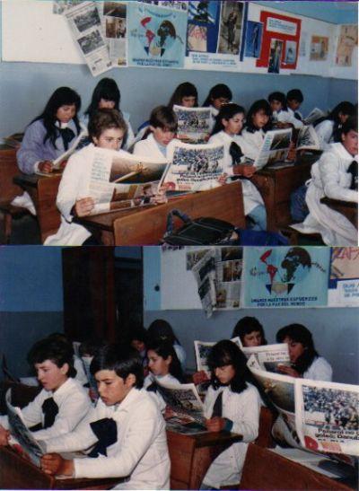 El diario en la escuela