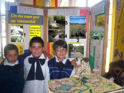 Club de ciencias: Nacimiento de un arroyo