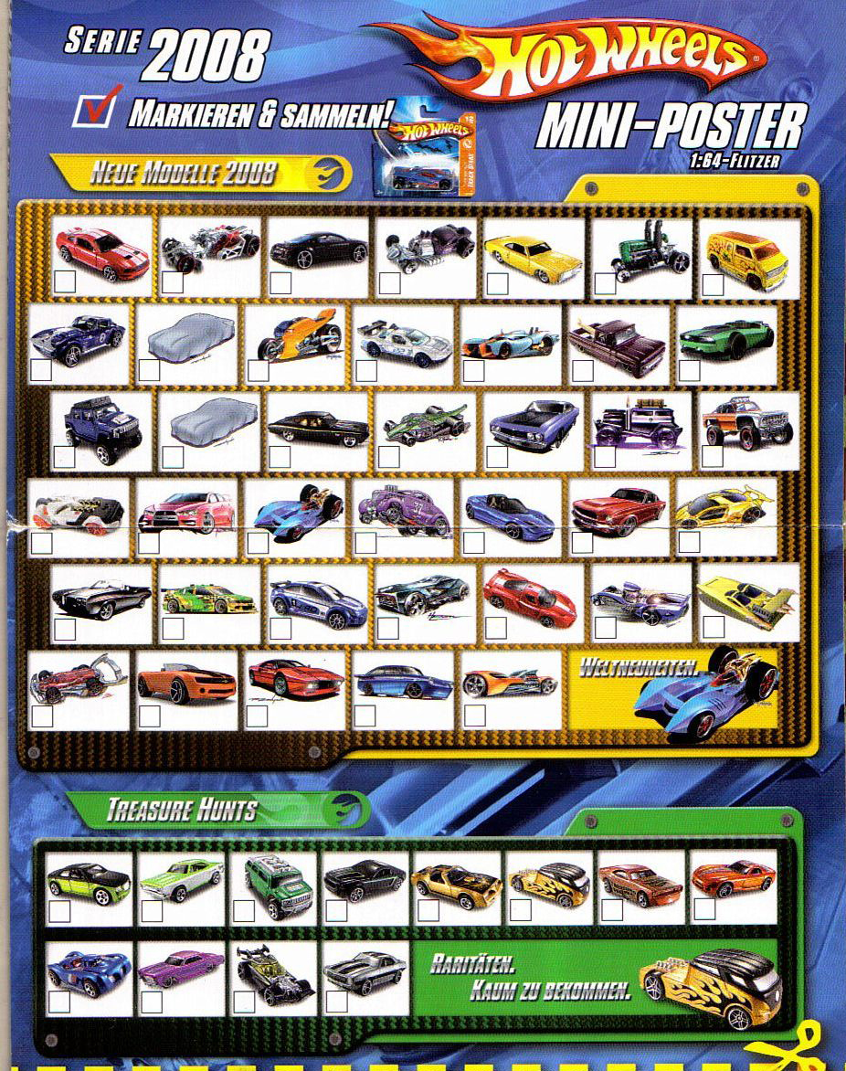 Club Hot Wheels Colombia - Coleccion Hot Wheels 2008