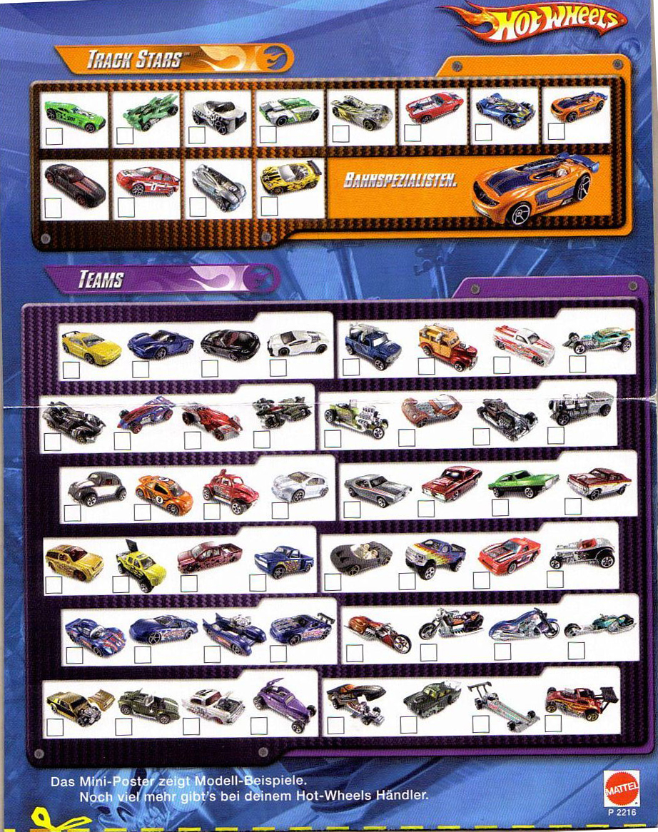 Club Hot Wheels Colombia Coleccion Hot Wheels 2008
