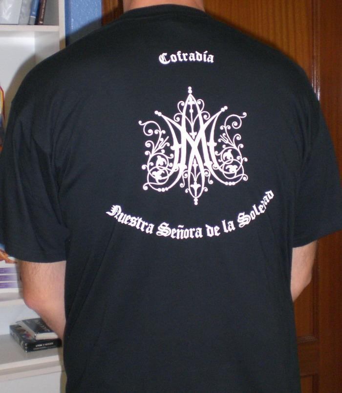 La camiseta vista por detras