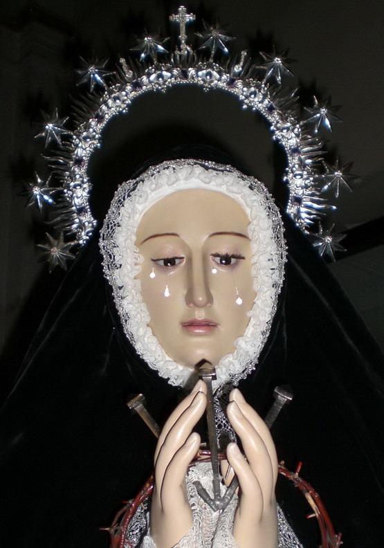 Imagen restaurada, Semana Santa 09