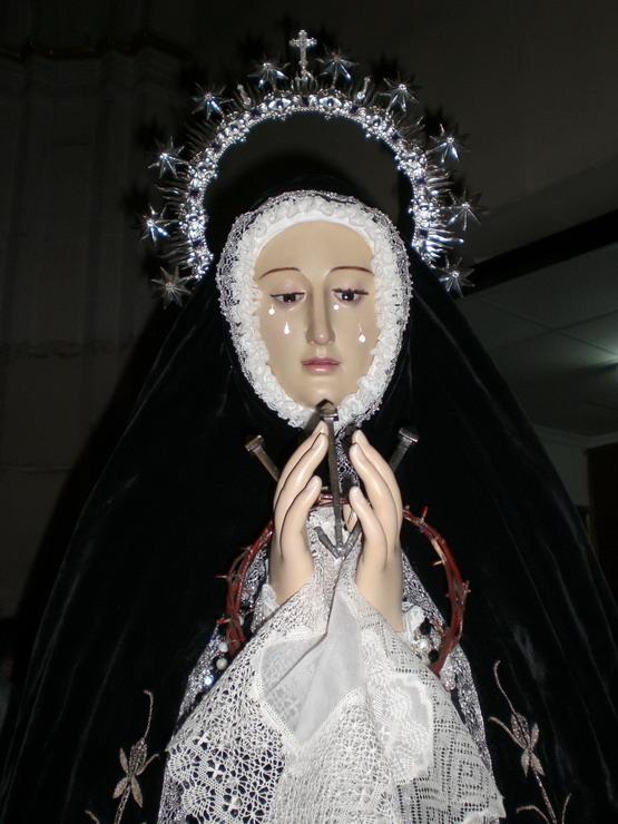 Imagen restaurada, Semana Santa 2009