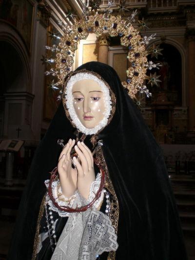 Nuestra Señora de la Soledad restaurada