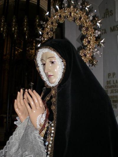 Ntra. Sra. de la Soledad restaurada